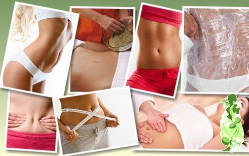 Обертывание пленкой живот и бока в домашних условиях